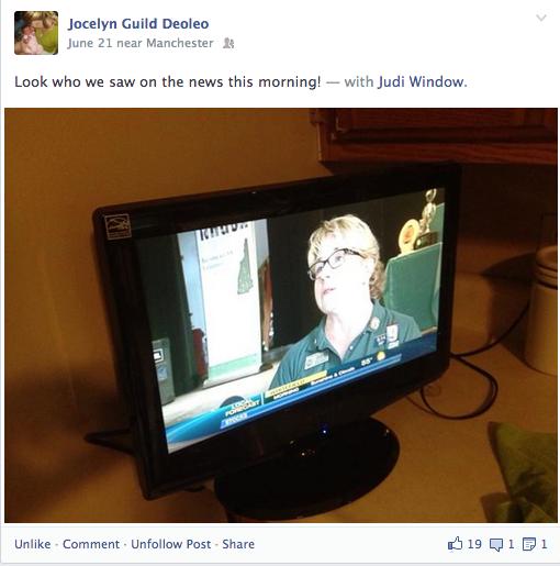 AMBIES _ Judi Window _ WMUR TV _ June 20 2013