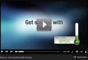 Getting Started with Feedly